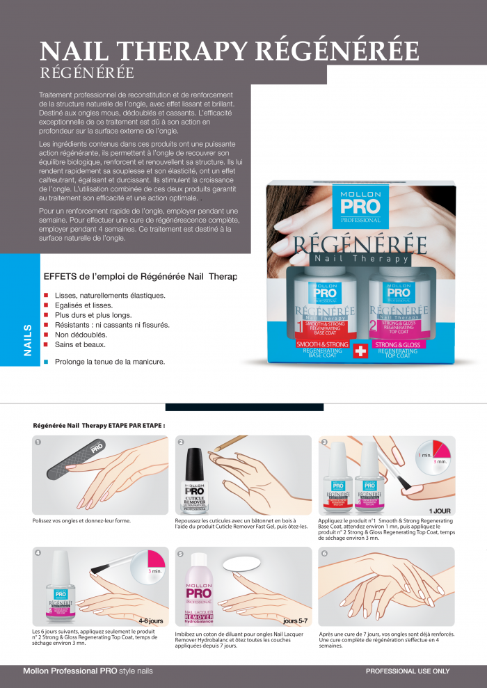 Mollon PRO France Nail therapy 1