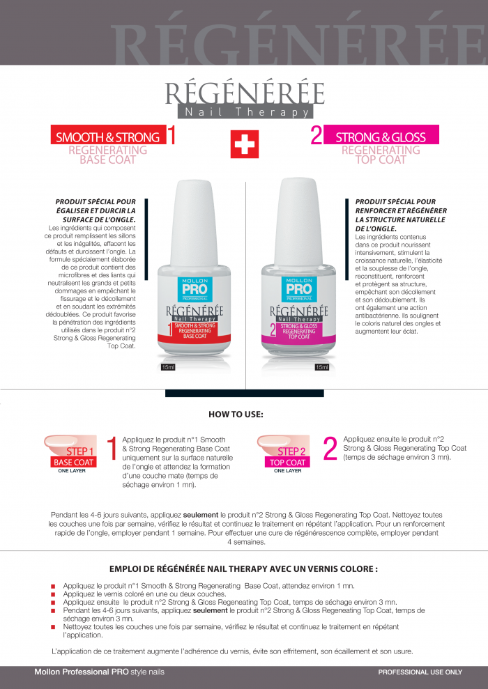 Mollon PRO France Nail therapy 2