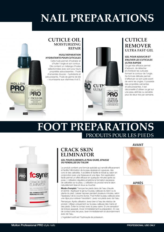 Mollon PRO France Produits de soins pour les ongles