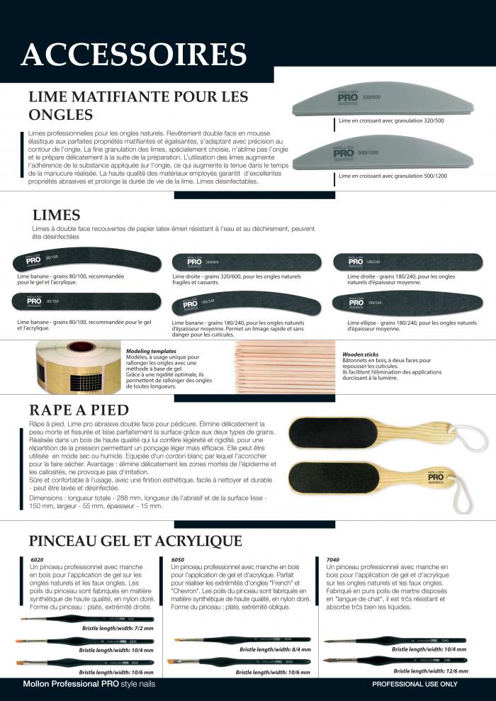 Mollon PRO France accessoires