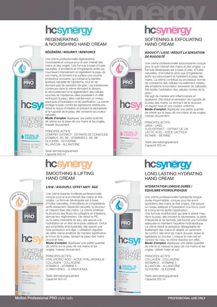 Mollon PRO France gamme soins Hc Synergy 2