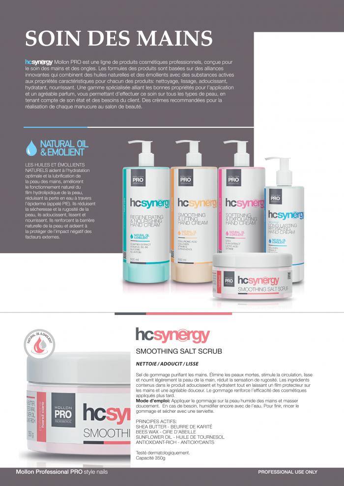 Mollon PRO France gamme soins Hc Synergy